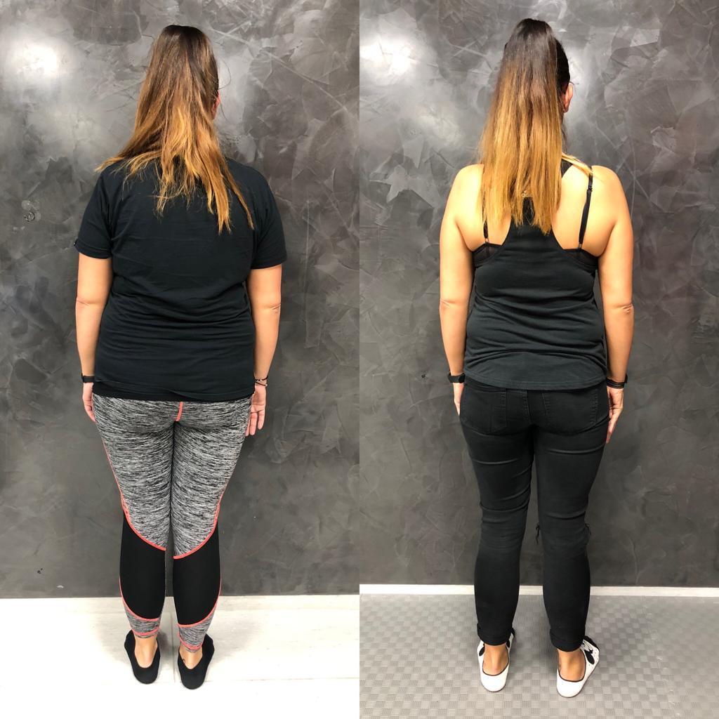 Proměna Denisy (zhubla 14,2 kg)