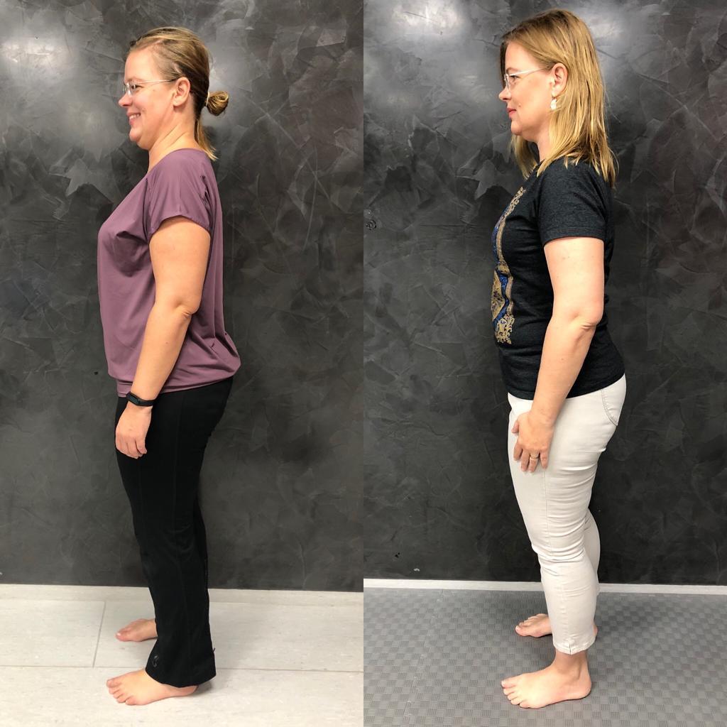 Proměna Lindy (zhubla 5,1 kg)