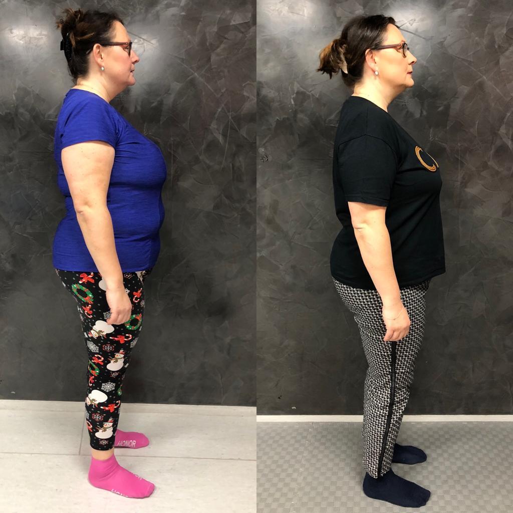 Proměna Silvie (zhubla 6,5 kg)