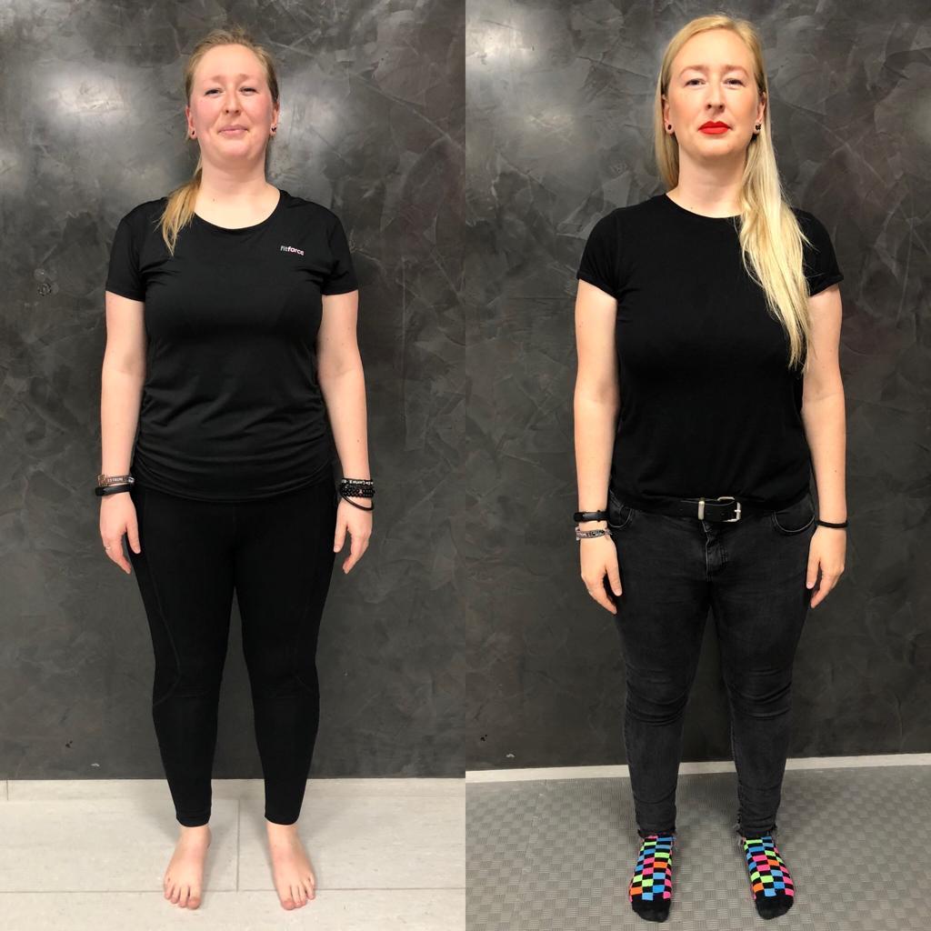 Proměna Terezy (zhubla 12 kg)
